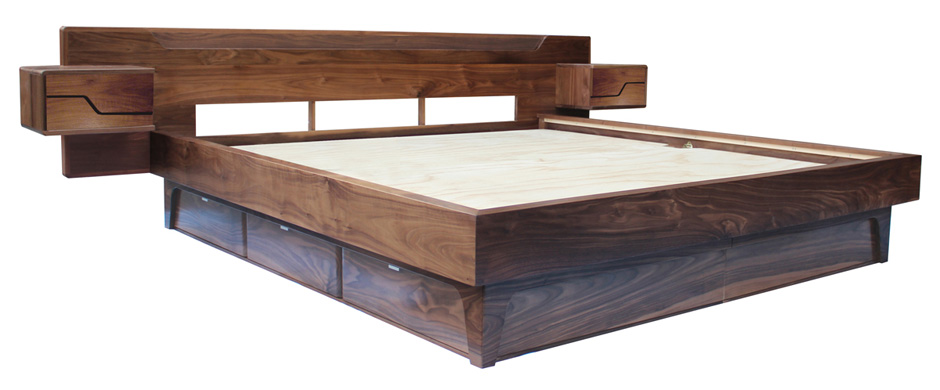 Platform Bed Frames With Storage Ngrtixlt Bed Amp Bath