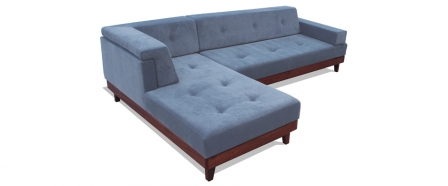 1112 Platform Sofa with Chaise
